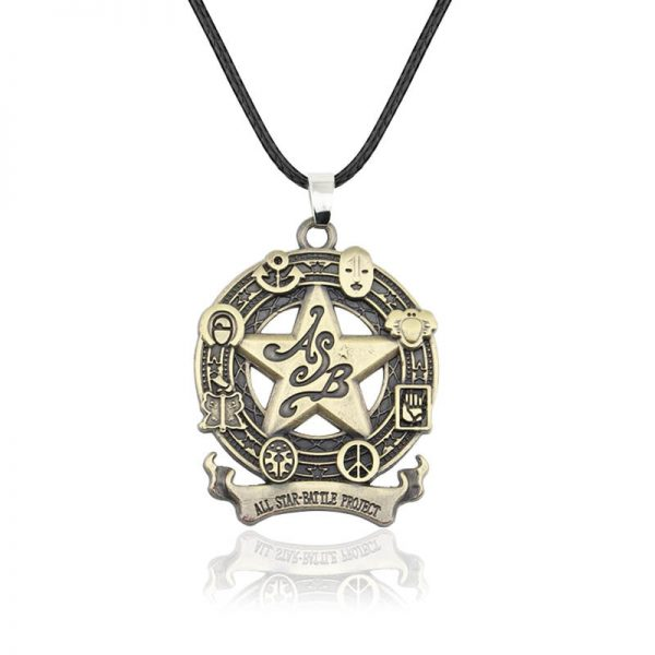 Anime jojo bizarre adventure Cosplay Necklace Kujo Jotaro Dio Brando Metal Jewelry Accessories 4 - Jojo's Bizarre Adventure Merch