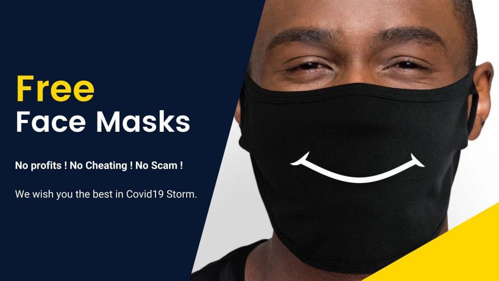 Free Mask Banner 2 - Jojo's Bizarre Adventure Merch