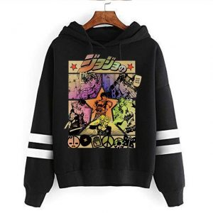 JoJo Bizarre Adventure Hoodie Japanese Anime Men women Funny Sweatshirt Harajuku Cartoon Hip Hop Vintage Clothes 24.jpg 640x640 24 - Jojo's Bizarre Adventure Merch