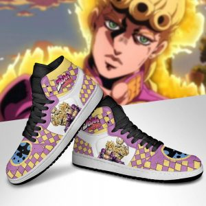 JJBA Shoes - Jordan Sneakers Caesar Anthonio Zeppeli Anime Shoes (Copy)