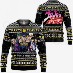 JJBA Sweater - Diamond is Unbreakable Ugly Christmas Sweater