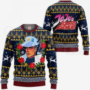 JJBA Sweater - Jotaro Kujo Ugly Christmas Sweater