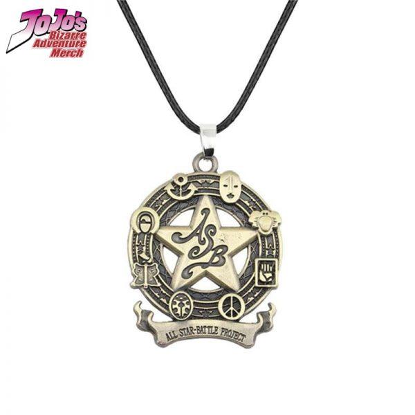 all star battle necklace jojos bizarre adventure merch 752 - Jojo's Bizarre Adventure Merch