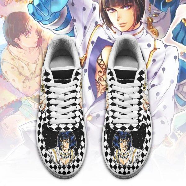 bruno bucciarati air force sneakers jojo anime shoes fan gift idea pt06 gearanime 2 - Jojo's Bizarre Adventure Merch