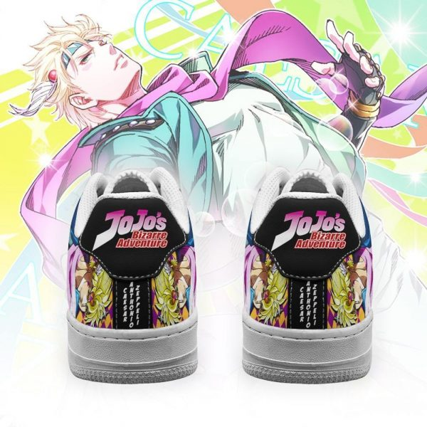 caesar anthonio zeppeli air force sneakers jojo anime shoes fan gift idea pt06 gearanime 3 - Jojo's Bizarre Adventure Merch