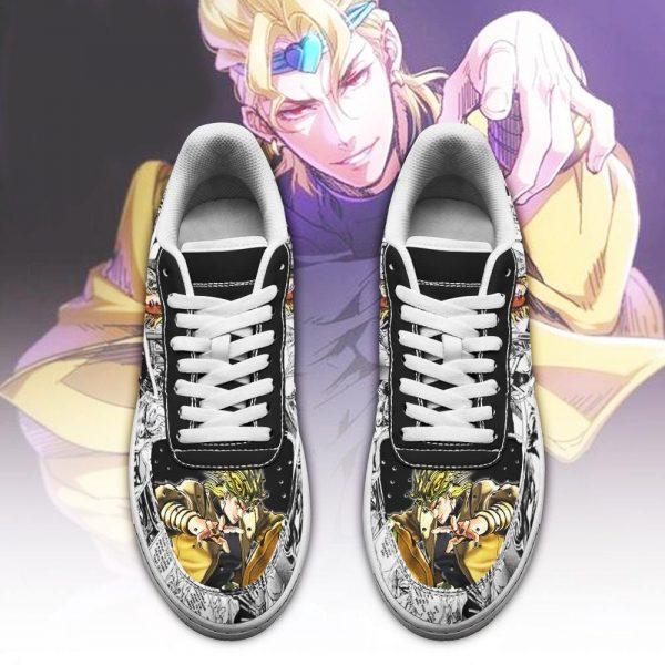 dio brando air force sneakers manga style jojos anime shoes fan gift pt06 gearanime 2 - Jojo's Bizarre Adventure Merch