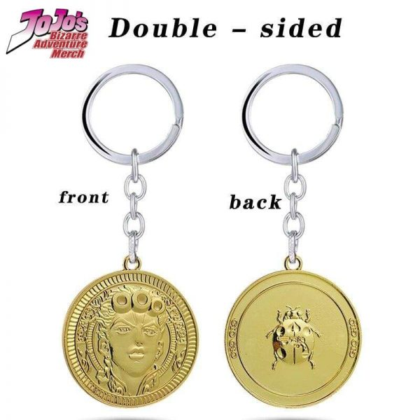 giorno face keychain jojos bizarre adventure merch 486 - Jojo's Bizarre Adventure Merch