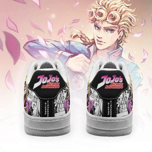 giorno giovanna air force sneakers manga style jojos anime shoes fan gift pt06 gearanime 3 - Jojo's Bizarre Adventure Merch