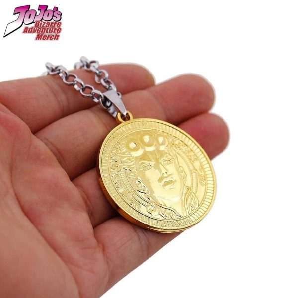 giorno giovanna necklace jojos bizarre adventure merch 473 - Jojo's Bizarre Adventure Merch