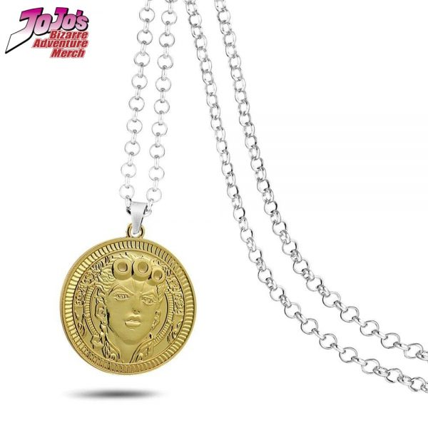 giorno giovanna necklace jojos bizarre adventure merch 850 - Jojo's Bizarre Adventure Merch
