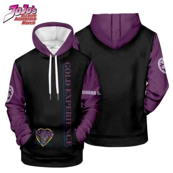 gold experience hoodie jojos bizarre adventure merch 865 - Jojo's Bizarre Adventure Merch