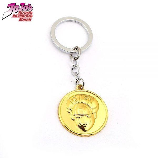 gold experience keychain jojos bizarre adventure merch 353 - Jojo's Bizarre Adventure Merch