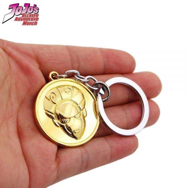 gold experience keychain jojos bizarre adventure merch 610 - Jojo's Bizarre Adventure Merch