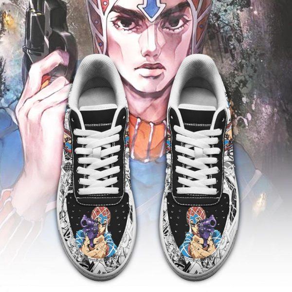guido mista air force sneakers manga style jojos anime shoes fan gift pt06 gearanime 2 - Jojo's Bizarre Adventure Merch