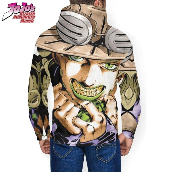 gyro zeppeli hoodie jojos bizarre adventure merch 324 - Jojo's Bizarre Adventure Merch