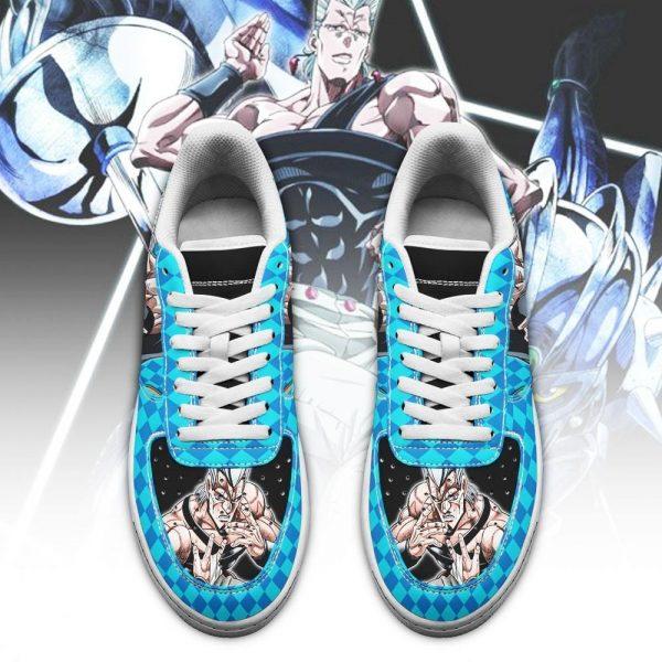 jean pierre polnareff air force sneakers jojo anime shoes fan gift idea pt06 gearanime 2 - Jojo's Bizarre Adventure Merch