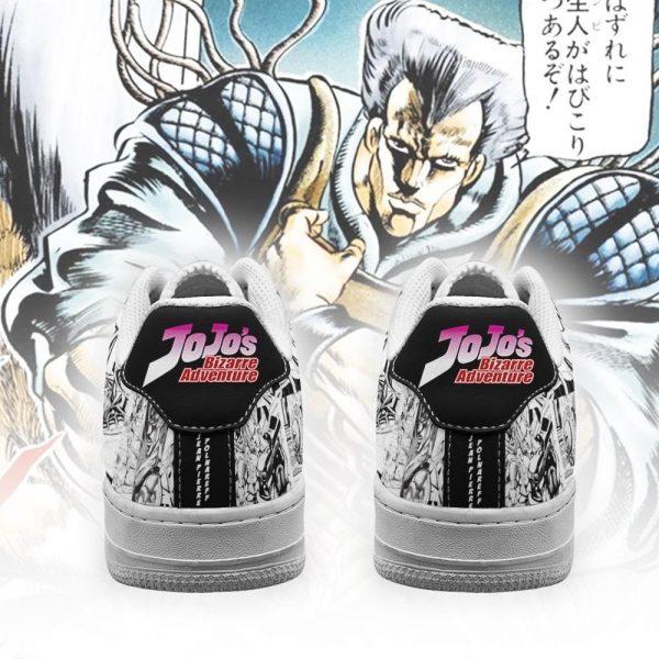 jean pierre polnareff air force sneakers manga style jojos anime shoes fan gift pt06 gearanime 3 - Jojo's Bizarre Adventure Merch