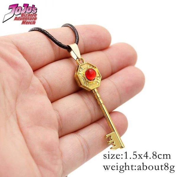 jjba mr president key necklace jojos bizarre adventure merch 116 - Jojo's Bizarre Adventure Merch
