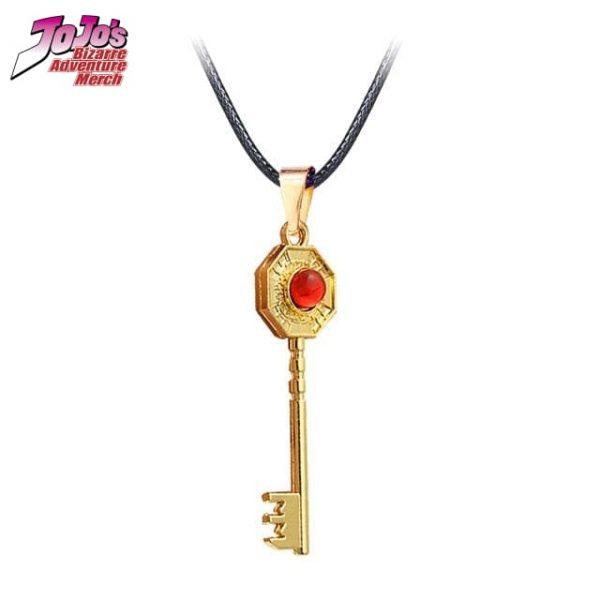 jjba mr president key necklace jojos bizarre adventure merch 919 - Jojo's Bizarre Adventure Merch