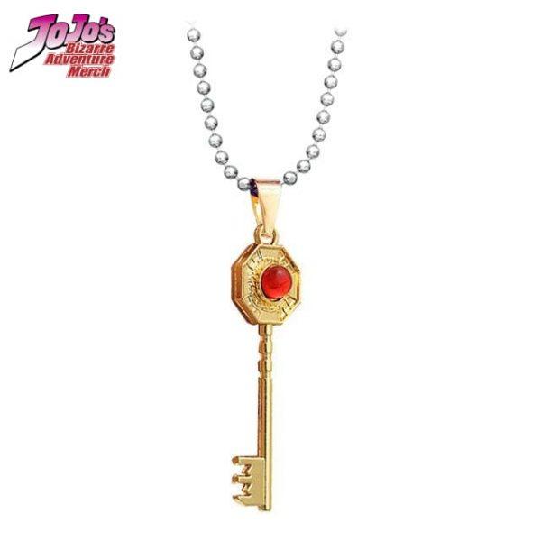 jjba mr president key necklace jojos bizarre adventure merch 943 - Jojo's Bizarre Adventure Merch