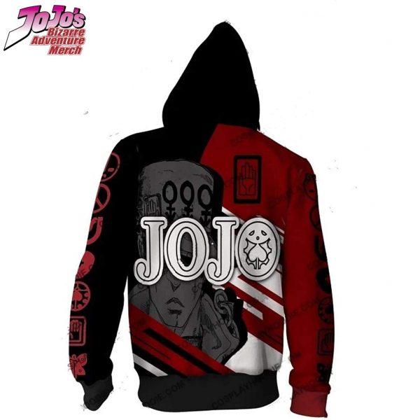 jjba zip up hoodie jojos bizarre adventure merch 716 - Jojo's Bizarre Adventure Merch