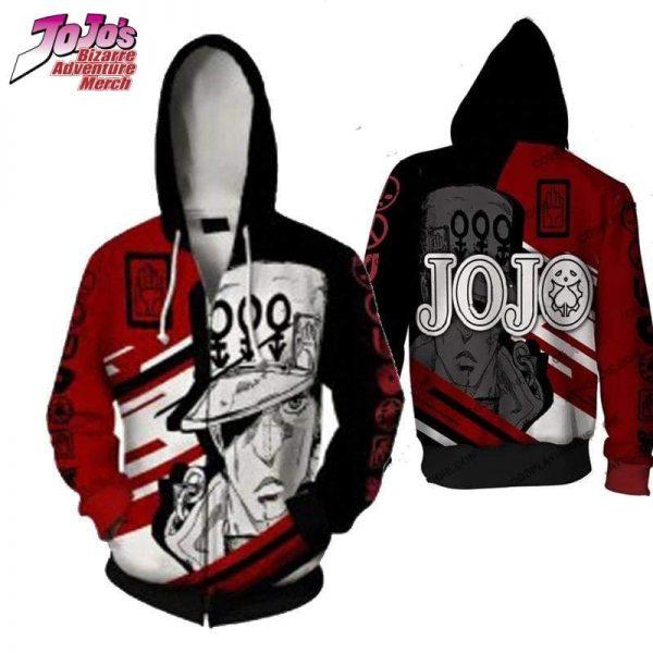 jjba zip up hoodie jojos bizarre adventure merch 915 - Jojo's Bizarre Adventure Merch