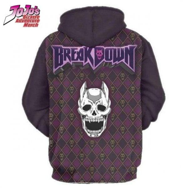 jojo breakdown hoodie jojos bizarre adventure merch 739 - Jojo's Bizarre Adventure Merch