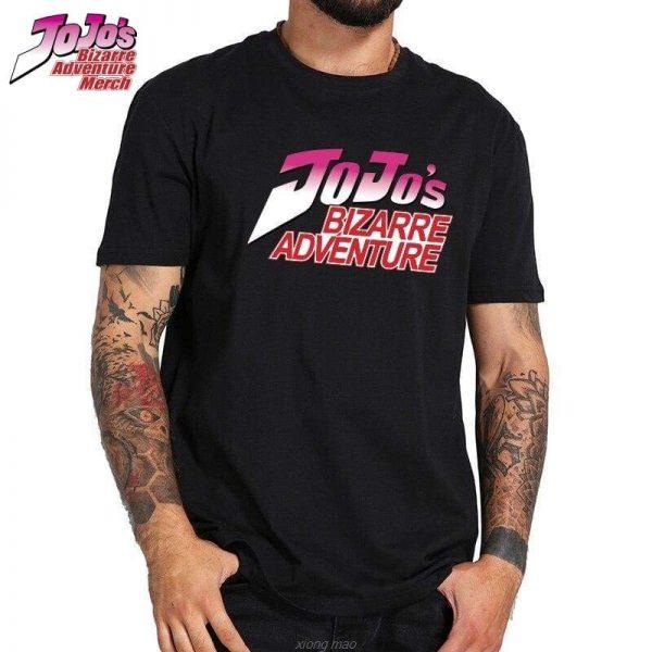 jojo logo shirt jojos bizarre adventure merch 420 - Jojo's Bizarre Adventure Merch