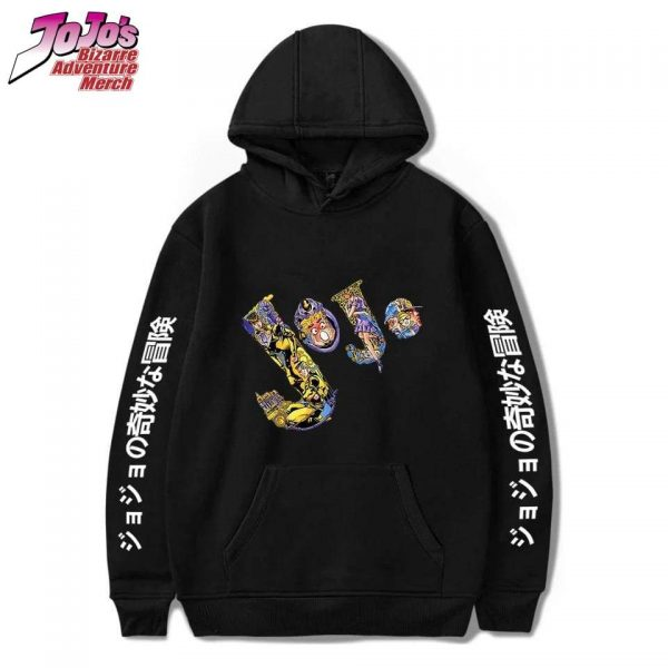 jojo pullover hoodie jojos bizarre adventure merch 485 - Jojo's Bizarre Adventure Merch