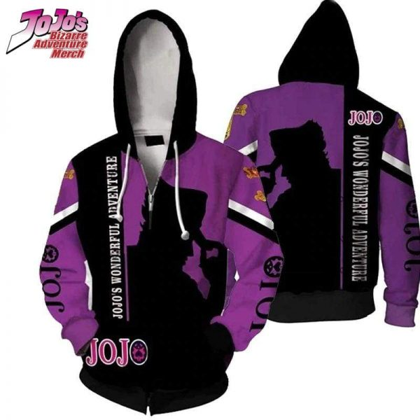 jojo zip up hoodie jojos bizarre adventure merch 455 - Jojo's Bizarre Adventure Merch