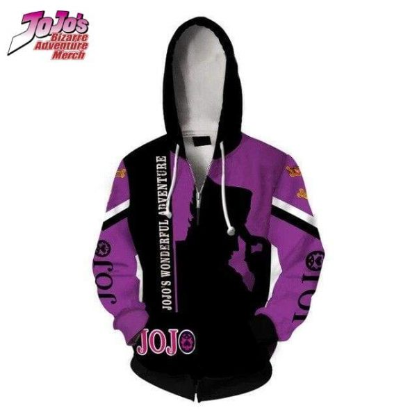 jojo zip up hoodie jojos bizarre adventure merch 855 - Jojo's Bizarre Adventure Merch