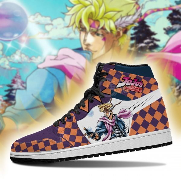 jojos bizarre adventure jordan sneakers caesar anthonio zeppeli shoes gearanime 4 - Jojo's Bizarre Adventure Merch