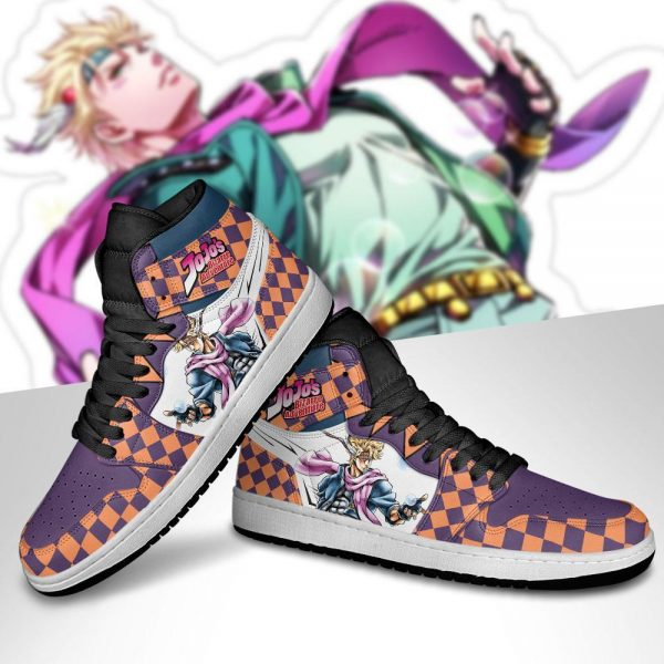 jojos bizarre adventure jordan sneakers caesar anthonio zeppeli shoes gearanime 5 - Jojo's Bizarre Adventure Merch