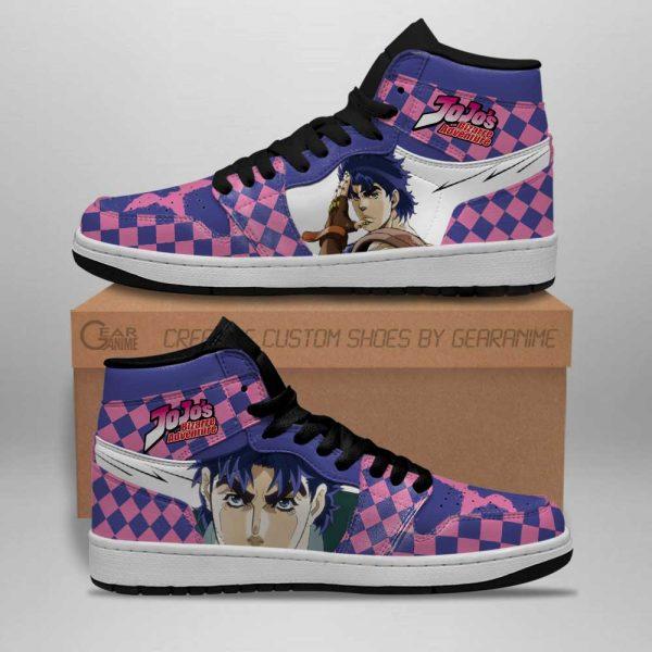 jojos bizarre adventure jordan sneakers jonathan joestar anime shoes gearanime 2 - Jojo's Bizarre Adventure Merch