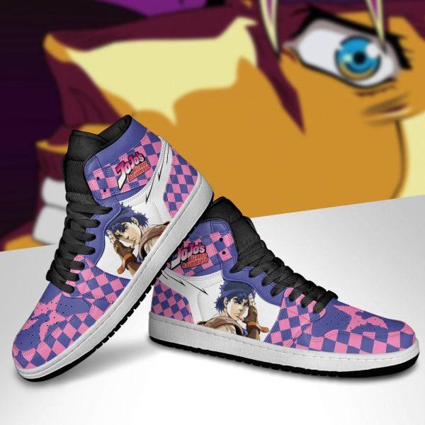 jojos bizarre adventure jordan sneakers jonathan joestar anime shoes gearanime 5 - Jojo's Bizarre Adventure Merch