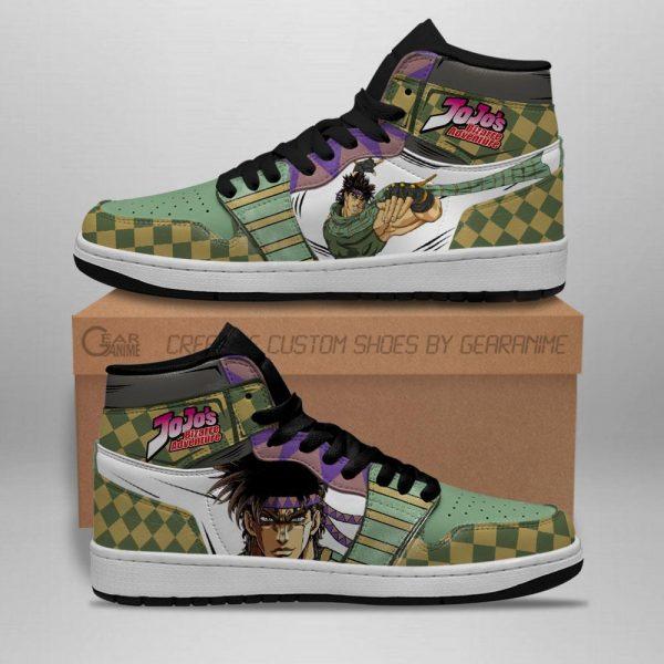 jojos bizarre adventure jordan sneakers joseph joestar anime shoes gearanime 2 - Jojo's Bizarre Adventure Merch