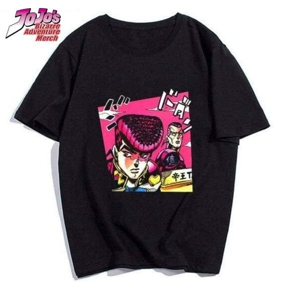 josuke and okuyasu shirt jojos bizarre adventure merch 195 - Jojo's Bizarre Adventure Merch