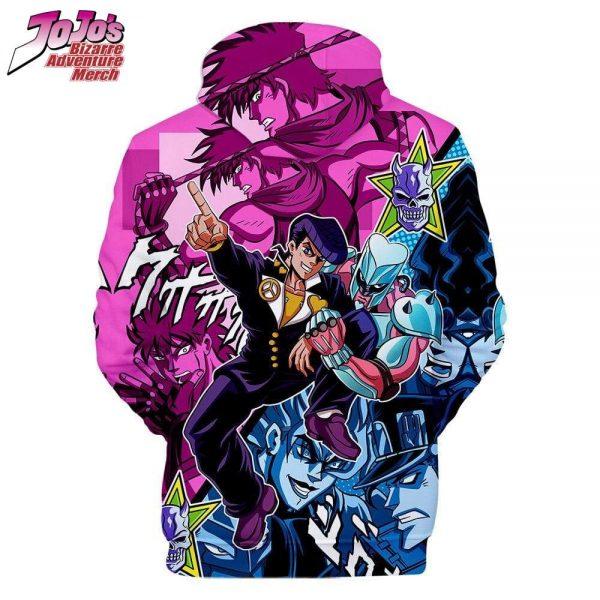 josuke higashikata hoodie jojos bizarre adventure merch 734 - Jojo's Bizarre Adventure Merch