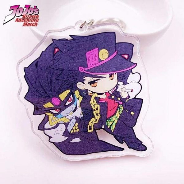 jotaro keychain jojos bizarre adventure merch 339 - Jojo's Bizarre Adventure Merch