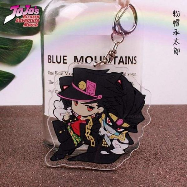 jotaro keychain jojos bizarre adventure merch 515 - Jojo's Bizarre Adventure Merch