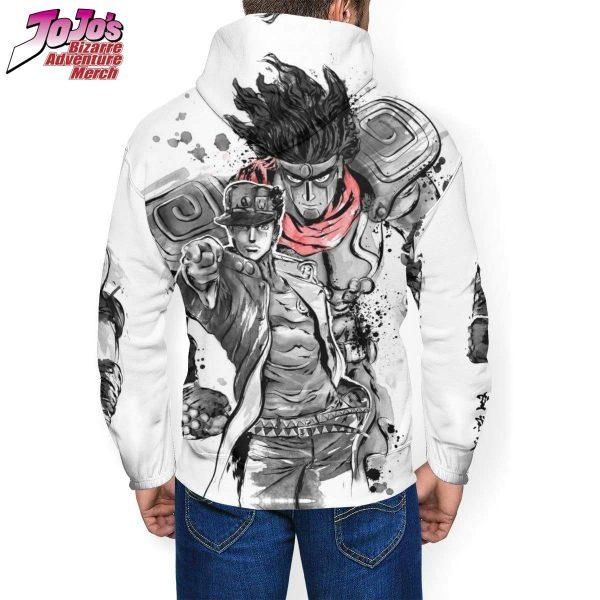 jotaro x star platinum hoodie jojos bizarre adventure merch 693 - Jojo's Bizarre Adventure Merch