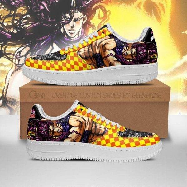 kars air force sneakers jojos bizarre adventure anime shoes fan gift idea pt06 gearanime - Jojo's Bizarre Adventure Merch