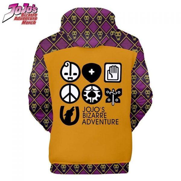 kira yoshikage background hoodie jojos bizarre adventure merch 564 - Jojo's Bizarre Adventure Merch