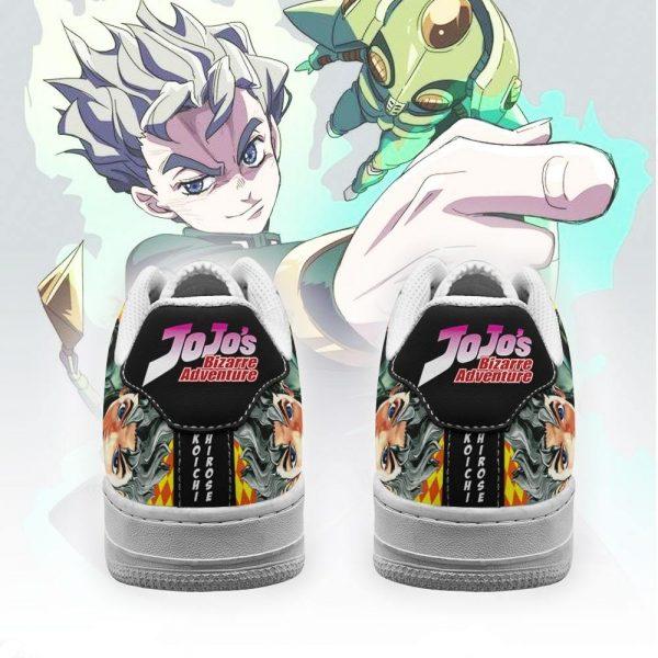 koichi hirose air force sneakers jojo anime shoes fan gift idea pt06 gearanime 3 - Jojo's Bizarre Adventure Merch