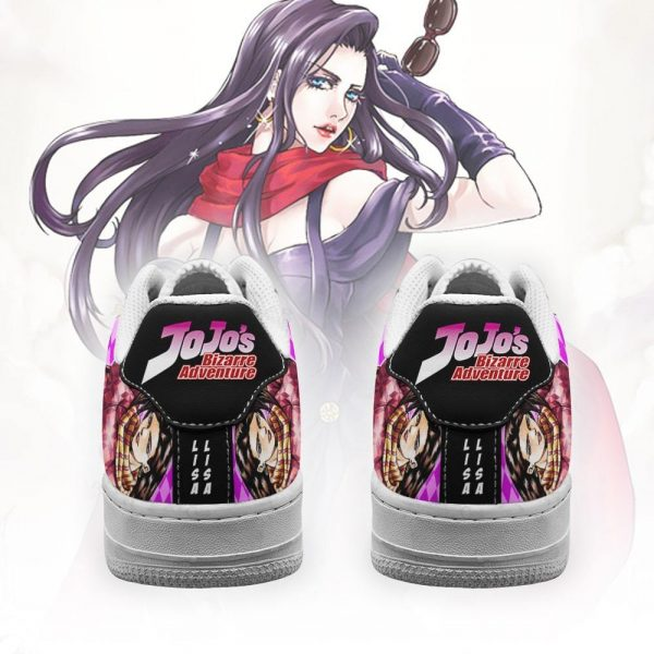 lisa lisa air force sneakers jojo anime shoes fan gift idea pt06 gearanime 3 - Jojo's Bizarre Adventure Merch