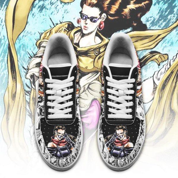 lisa lisa air force sneakers manga style jojos anime shoes fan gift pt06 gearanime 2 - Jojo's Bizarre Adventure Merch