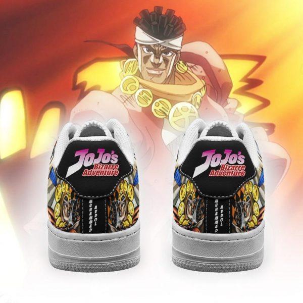 muhammad avdol air force sneakers jojo anime shoes fan gift idea pt06 gearanime 3 - Jojo's Bizarre Adventure Merch