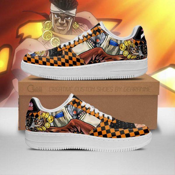 muhammad avdol air force sneakers jojo anime shoes fan gift idea pt06 gearanime - Jojo's Bizarre Adventure Merch