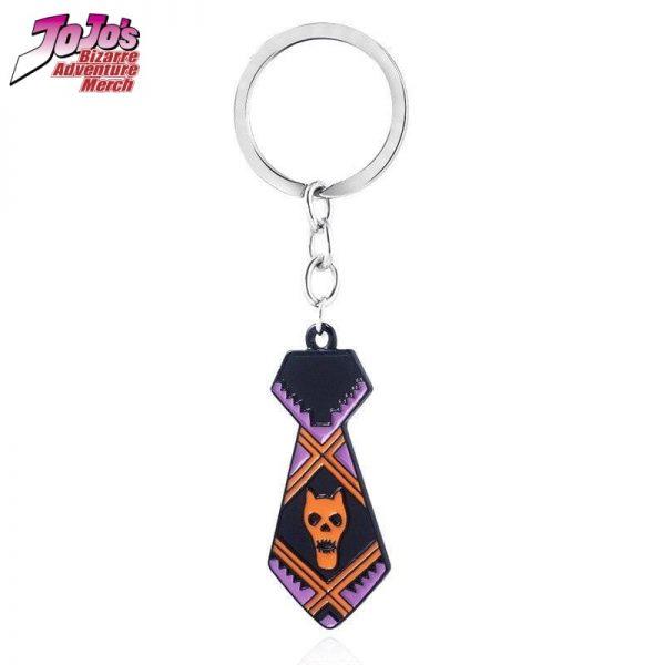 necktie keychain jojos bizarre adventure merch 180 - Jojo's Bizarre Adventure Merch