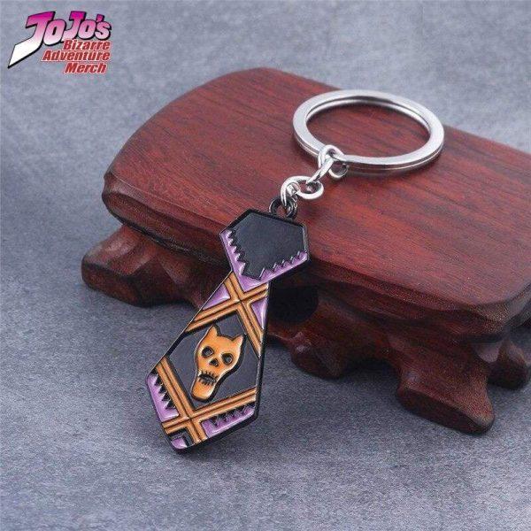 necktie keychain jojos bizarre adventure merch 188 - Jojo's Bizarre Adventure Merch